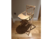 Folding High Chair (Maison Combelle)