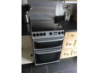Cannon electric oven with ceramic hob and extractor fan