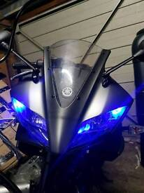 Yzf r125 59 plate lots of extra fairings