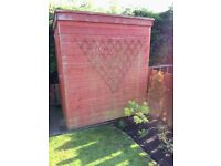 6' x 4' Wooden Garden Shed