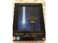 Blu Ray/3D Star wars
