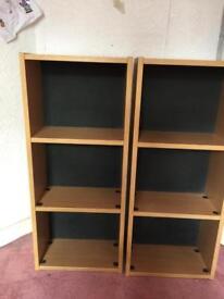 Shelving cabinets