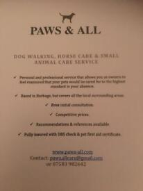 Dog Walking - Burbage & Hinckley