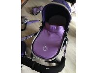 iCandy Purple pram