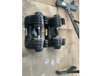 Adjustable weights 5- 32.5kg pair