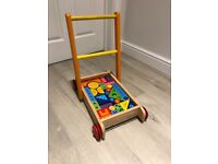Baby Walker - wooden, very good condition