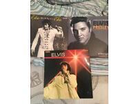 Set of 3 Elvis Presley Records