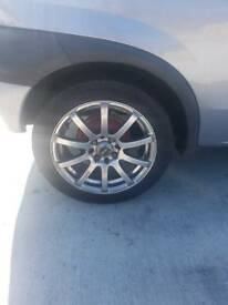 Vauxhall Corsa alloys with tyres 4x100 195 50 r15