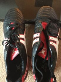 Gilbert Football Boots size 9