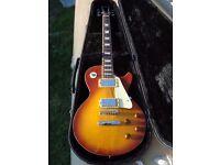 Washburn wp50 electric guitar very rare Les Paul style sunburst £375 ono