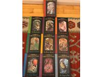 A Series of Unfortunate Events hardback collection