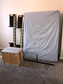 Double divan bed & mattress