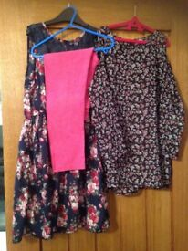 Bundle of girls clothes age 11-12 years