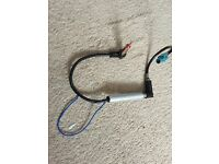 Radio amplifier Car Radio Stereo Antenna Aerial Ariel Arial Amplifier Booster Cable Lead DIN-DIN