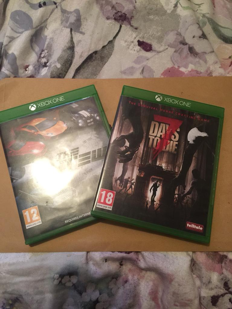 7 days to die and the crew Xbox one 1 £20 for both   in Norwich, Norfolk    Gumtree
