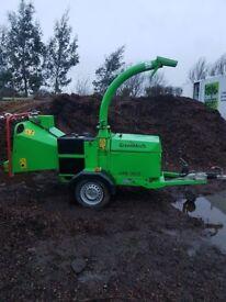 "Greenmech Arborist 150 6"" chipper"