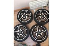 Mercedes AMG Alloy Wheels *Genuine