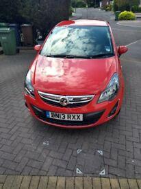 Vauxhall Corsa SXI 2013 1.2 Red 43000 MOT Till May 2019
