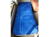 Fold up Futon. Excellent condition.