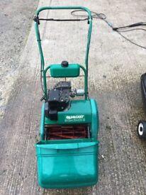 2 petrol lawn mowers £35 each. Qualcast 34s & Victa Classic 35 both spares or repair