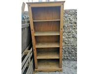 Tall Bookcase - Pine