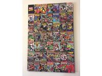 Marvel Comics Montage Canvas Superhero