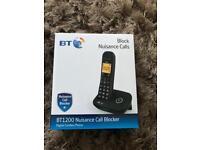 * BRAND NEW * BT 1200 SINGLE WIRELESS CORDLESS HOME OFFICE WORK PHONE TELEPHONE