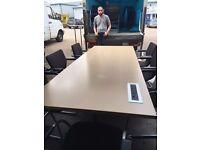 office furniture 2.3 meter folding meeting table
