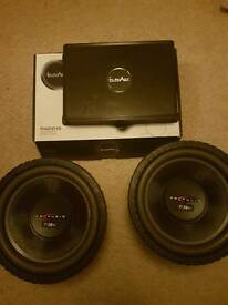 Db audio t rex subs and inphase amp