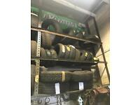 TYRES VARIOUS SIZES ALL NEW