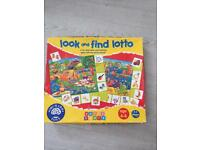 Look and find lotto game