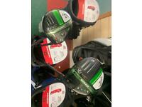Callaway Epic Speed Driver and 4 Wood