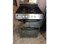Black Indesit Gas cooker 60cm mint condition