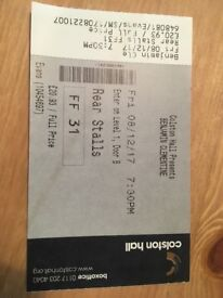 1x Benjamin Clementine Ticket Bristol 8th December 08/12