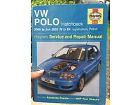VW Polo 5W/40 Oil and Haynes Manual