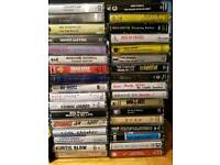 1000 Cassette Tapes - Rock, Heavy Metal, 80s, - Job Lot, Collection