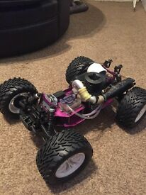 Rc nitro 4x4 hyper 30 engine