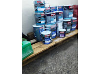 Selection of paint