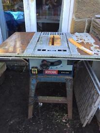 RYOBI bench saw spares or repair