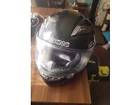Ducini Motorcycle helmet