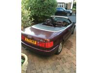 Audi 80 2.3 E cabriolet 1993 May px or swap for Motorbike, boat, or left hand drive car