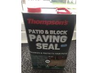 Patio/brickwork sealer, protector, enhancer