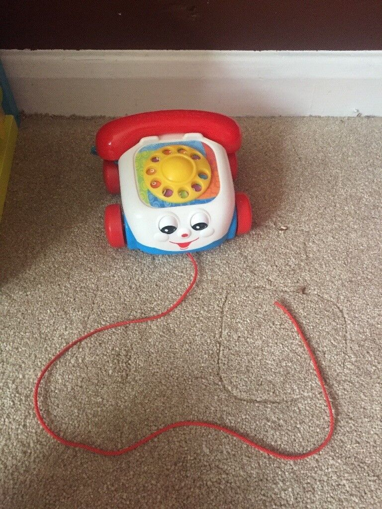 Baby/toddler pull along telephone