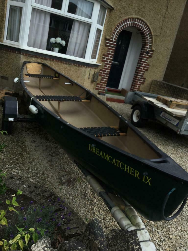 OLD TOWN canoe and MERCURY outboard motor   in Oxford, Oxfordshire   Gumtree