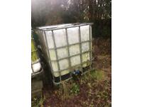 IBC Water Tank Container.... For Allotment or Stables