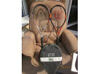 Wilson And Head Tennis Racquets, Lacoste Cover