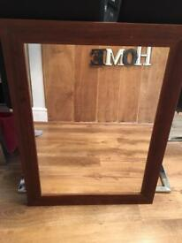 1 mirror & two pictures for sale