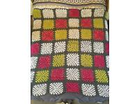 Handmade XL Knitted Blanket