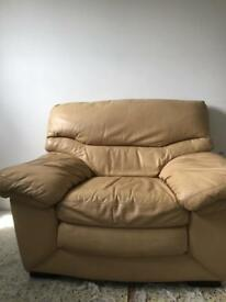 Leather Armchair - Little use.