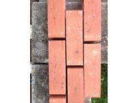 New building bricks Clumber reds